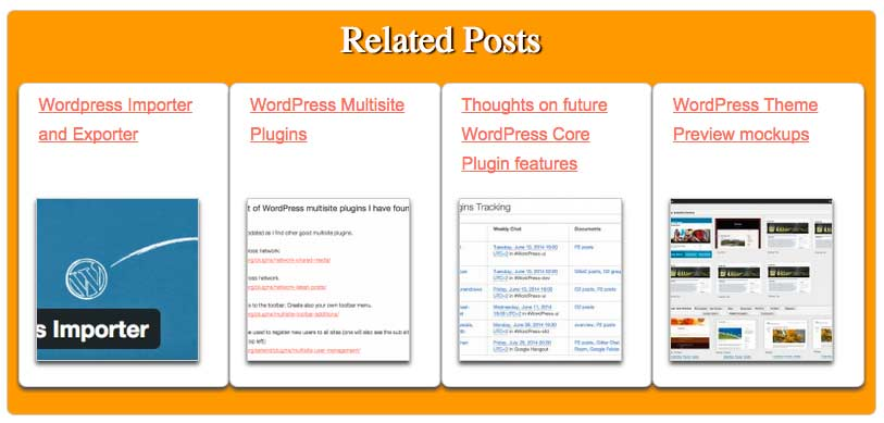 Related Posts Custom CSS layout 3