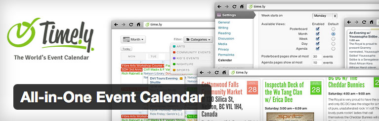 Timely All in One Event Calendar header