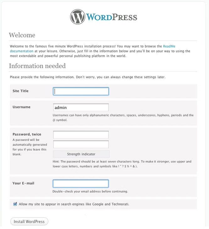 7-wordpress-info-screen