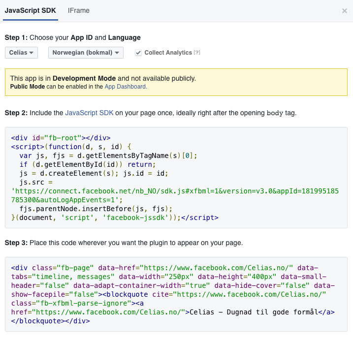 Facebook-Page-Plugin-JavaScript-code