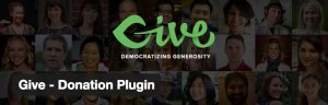 Give Donation WordPress Plugin banner