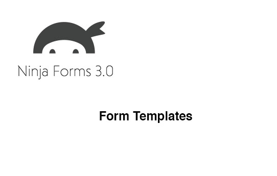 Ninja Forms Form Templates