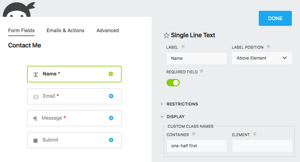 Styling a Ninja Forms contact form | Easy Web Design Tutorials