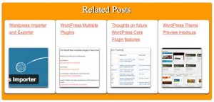 Related Posts Custom CSS 3