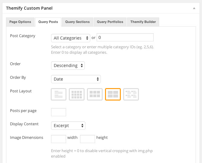 Themify-Page-Custom-Panel-Query-Posts