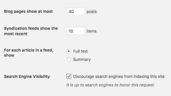WordPress-Search-Engine-Visibility-off